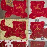 08 red lion 110x100cm